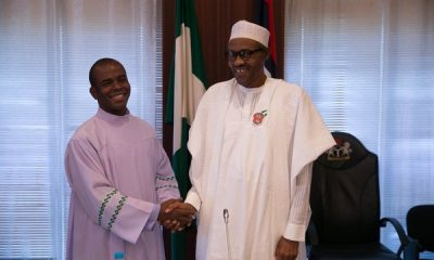 Father Mbaka Releases 'Dangerous Prophecy', Favours Buhari, Hits PDP