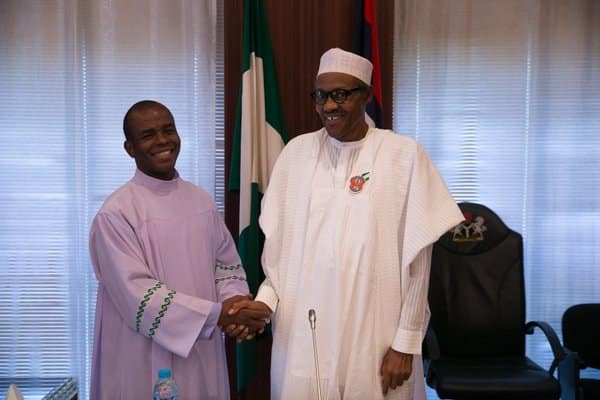 Presidency Exposes Father Mbaka's Secret After Attacking Buhari