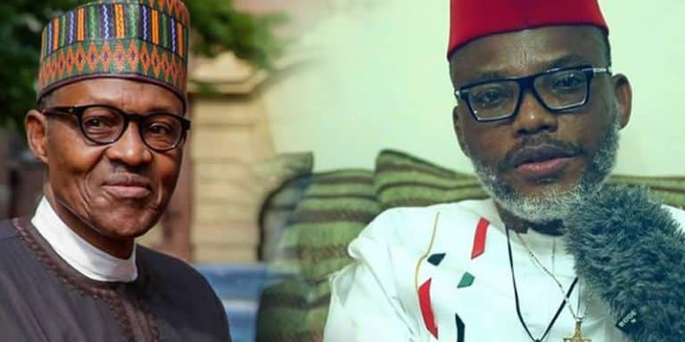 Exposed! Nnamdi Kanu 'Dumps' Biafra, Now Working For Buhari