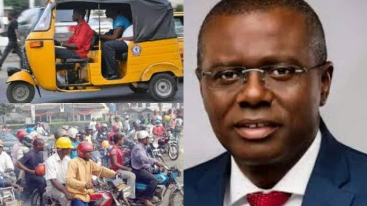 Governor Sanwo-Olu Takes 'Major Decision' On Okada Ban In Lagos
