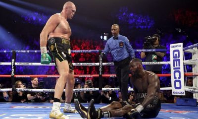 Breaking News: Tyson Fury Destroys Wilder As Deontay Loses First Boxing Fight