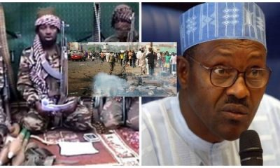 Presidency Reacts As Boko Haram Leader Shekau Weeps In New Audio