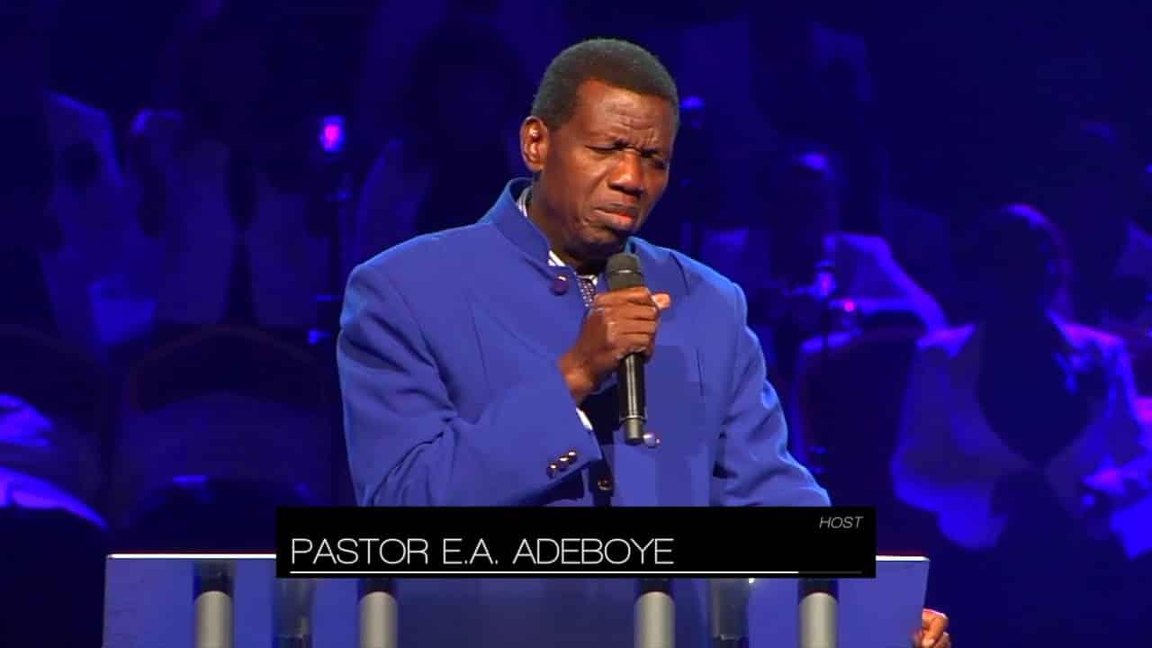 Pastor Adeboye In Fresh Trouble