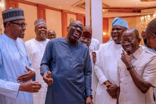 Governors, Minister Behind Oshiomhole's Suspension As APC Chairman Exposed
