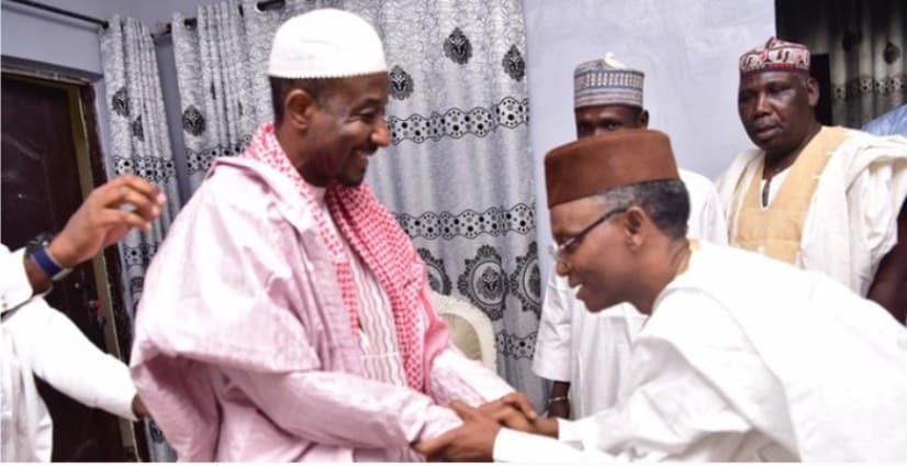 BREAKING: Governor El-rufai Meets Dethroned Emir Sanusi In Nasarawa (Photos)