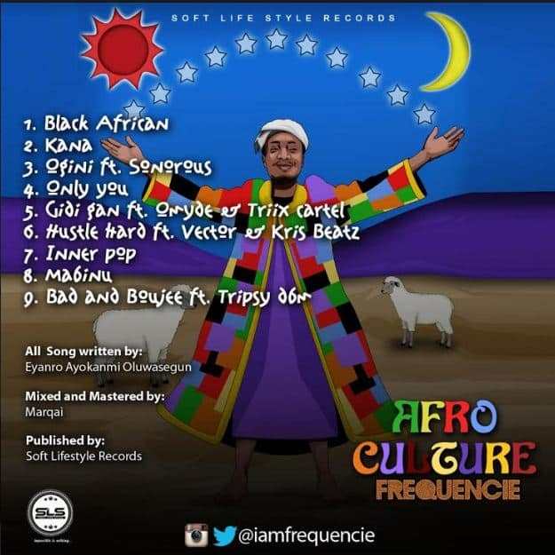 Afro Culture, New Frequencie EP Shakes The Internet