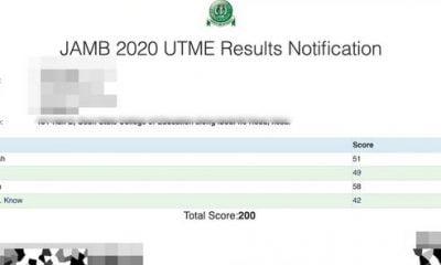 JAMB Result 2020: 3 Easy Steps To Check UTME 2020