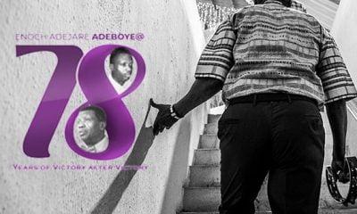 Pastor Adeboye Makes Shocking Confession At 78