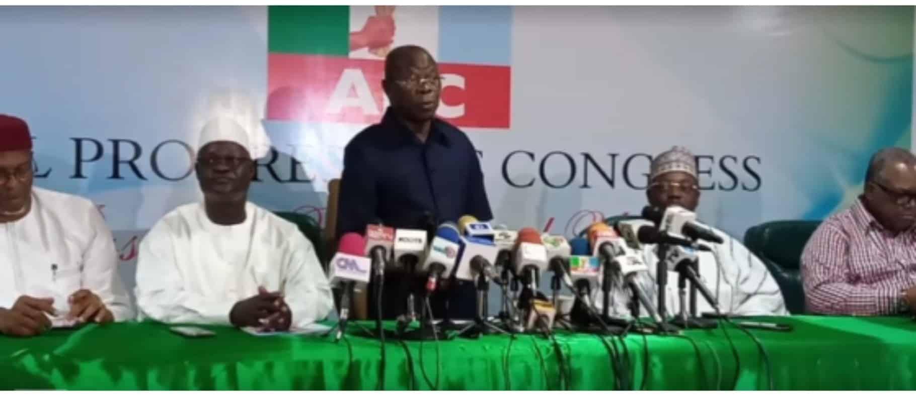 BREAKING: Edo APC Ward Lifts Suspension On Oshiomhole