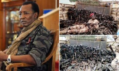 Chadian Troops Led By President Idriss Debby Crush Boko Haram, Free Nigerian Soldiers (Photos)