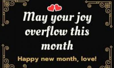 50 Happy New Month Messages, New Month Prayers, Wishes For June