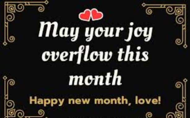 50 Happy New Month Messages, New Month Prayers, Wishes For May 2021