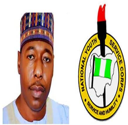 EXCLUSIVE: Borno Corpers To Protest Non-Payment Of NYSC Allowance, 'Governor's Discrimination'