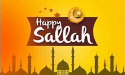 50 Happy Sallah Messages, Happy Eid Prayers For Friends, Family