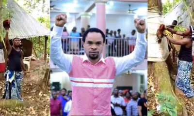 Video: Angry Native Doctor Performs Deadly Ritual On Prophet Odumeje