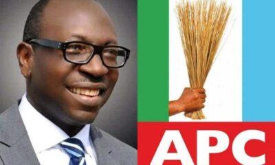 Edo 2020: APC's Ize-Iyamu Picks Running Mate