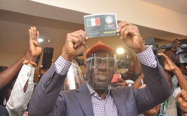 BREAKING: Obaseki Emerges PDP Candidate For Edo 2020 Unopposed