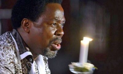 TB Joshua And Lucifer Battle For Supremacy In Synagogue (Video)