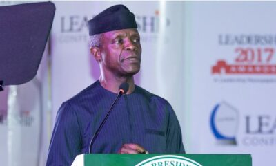 VP Osinbajo To Commission Dukia - Heritage Bank Gold And Precious Metal Buying Centres