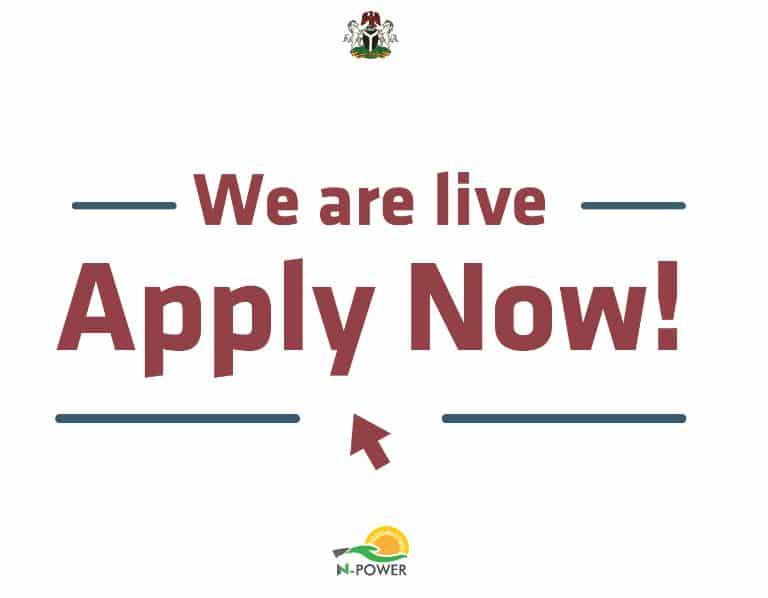 Npower Speaks On Closing Registration For Batch C Recruitment