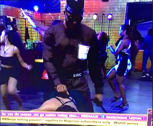 BBNaija: Watch Video Of Eric And Lilo Performing Wonders