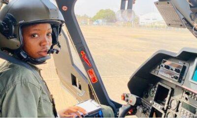 BREAKING: Nigeria Air Force First Female Combat Pilot Dies At 23