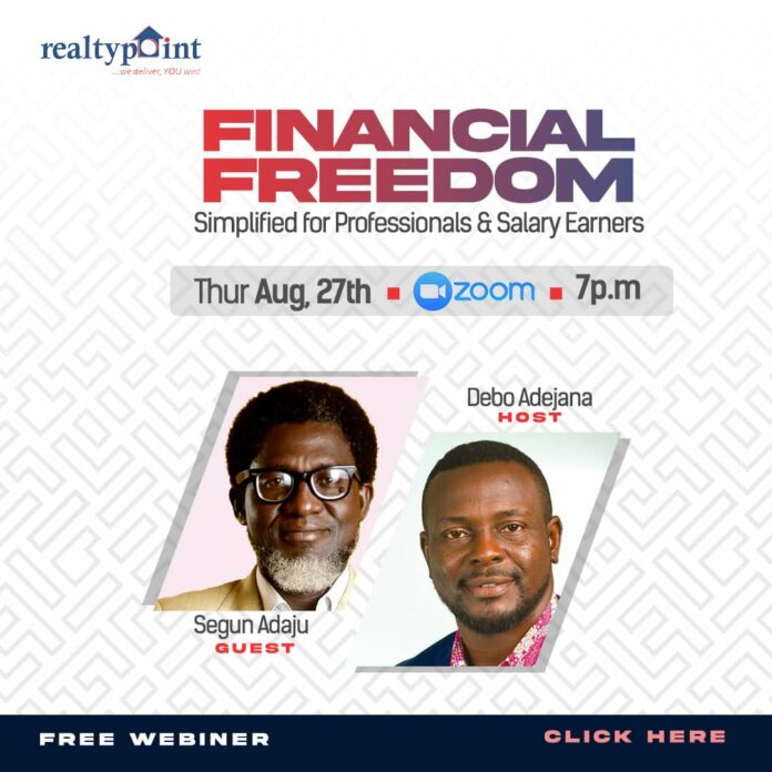 Firm unveils hope for Financial Freedom for Professionals