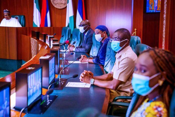 Obaseki Visits Buhari, Speaks On Returning To APC