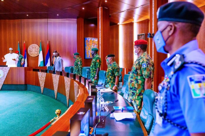 BREAKING: Finally, Buhari Sacks Service Chiefs, Appoints New Ones (Full List)