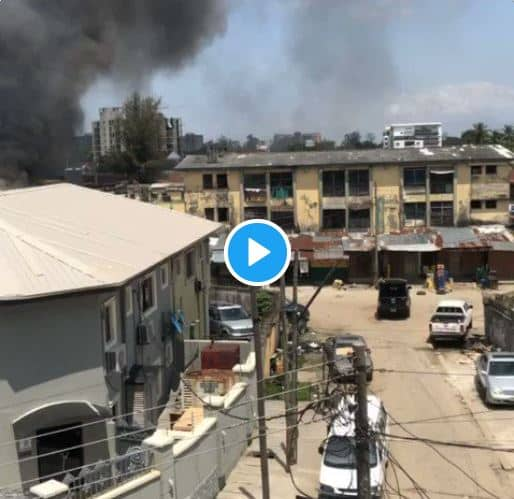 See Live Videos Of Ikoyi Prison Attack