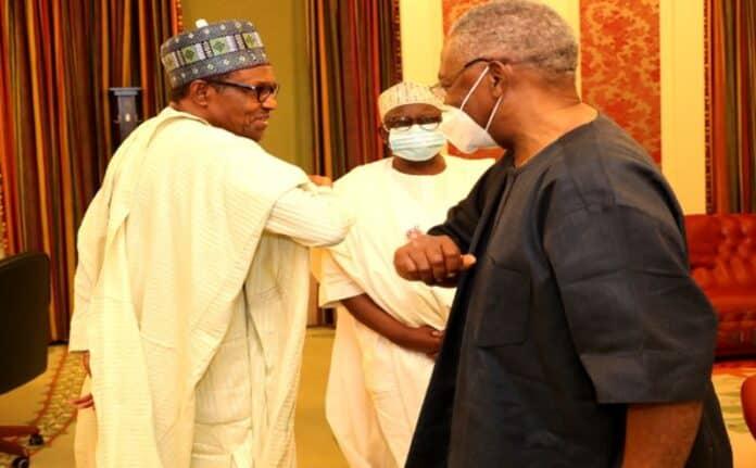 JUST IN: Buhari Meets TY Danjuma Behind Closed-Doors