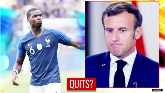 Paul Pogba 'Quits' France Football Team After President Macron's Remarks On Islam