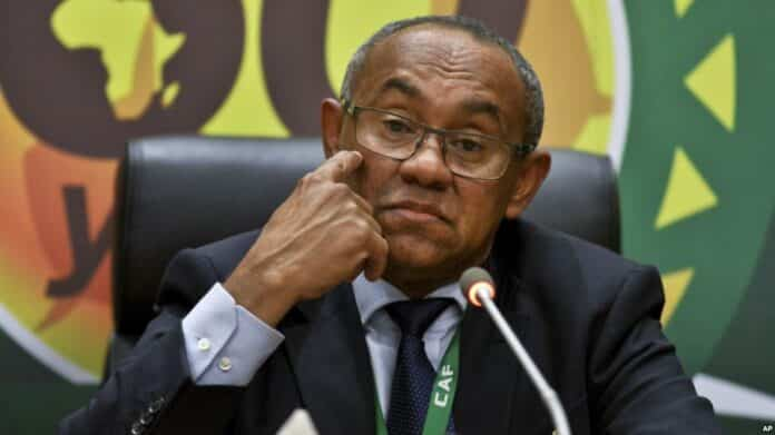 BREAKING: FIFA Bans CAF President For 5 Years Over Corruption