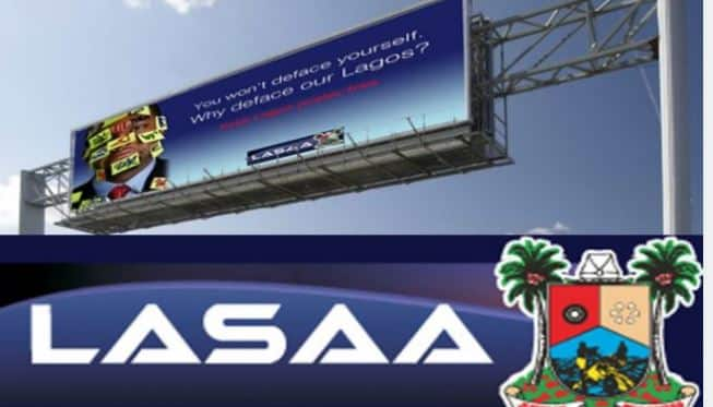LASAA Remains Regulatory Agency For Billboards And Signages In Lagos State