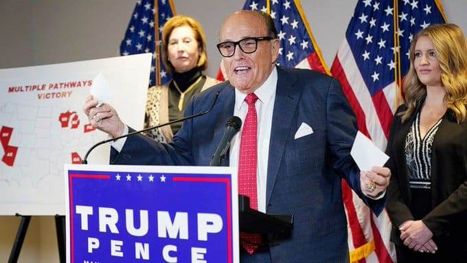 Hope For Trump As Rudy Giuliani Releases 'Enough Proof To Overturn US Election'