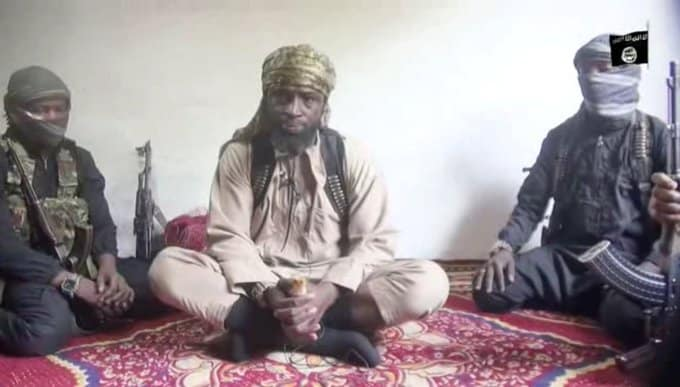 Watch Moment Boko Haram Leader Shekau Attacked Nigerian Army (Video)