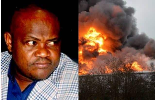 BREAKING: Explosion Rocks Governor Wike Father's Church In Rivers