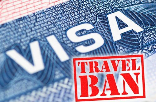 US Announces New US Visa Ban, See Those Affected