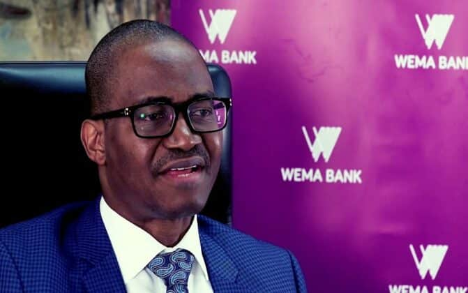 Figures Don't Lie: Wema Bank Standing On Strong Financial Fundamentals - Adebise