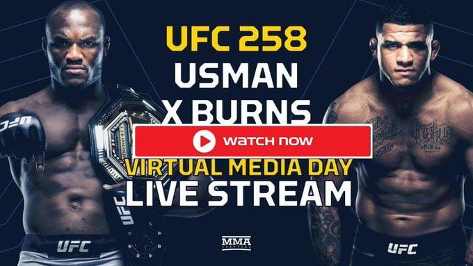 #UFC258: Live Stream Usman Vs Burns UFC 258 Fight Here