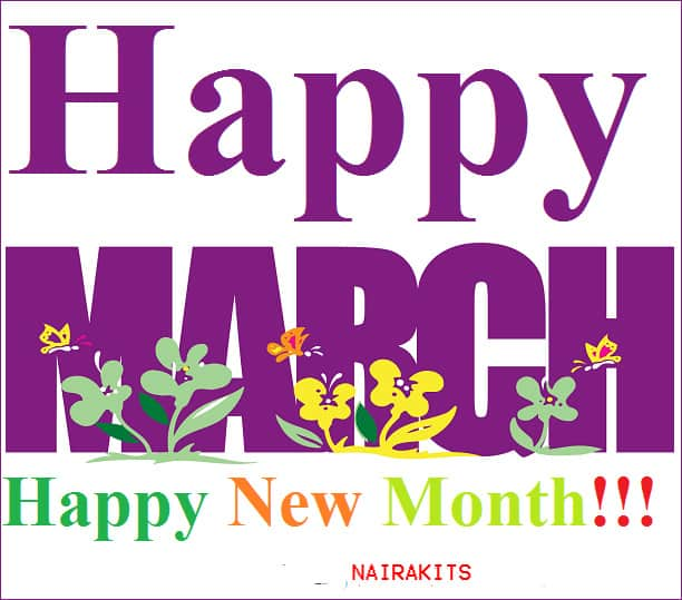50 Happy New Month Of March Messages For Family, Friends