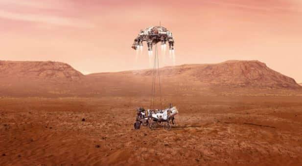 #Mars2020: Watch As NASA Perseverance Lands On Mars (Video)