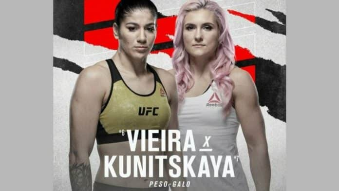 #UFCVegas19: Live Stream UFC Fight Night Veira Vs Kunitskaya Here