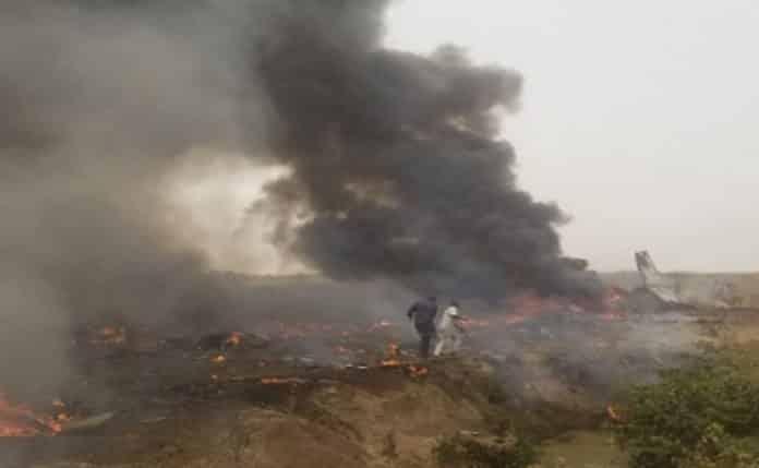 BREAKING: Plane Crashes In Abuja (Video)
