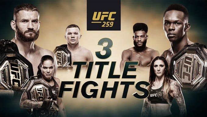 #UFC259: Working Links To Live Stream Blachowicz Vs Adesanya For Free