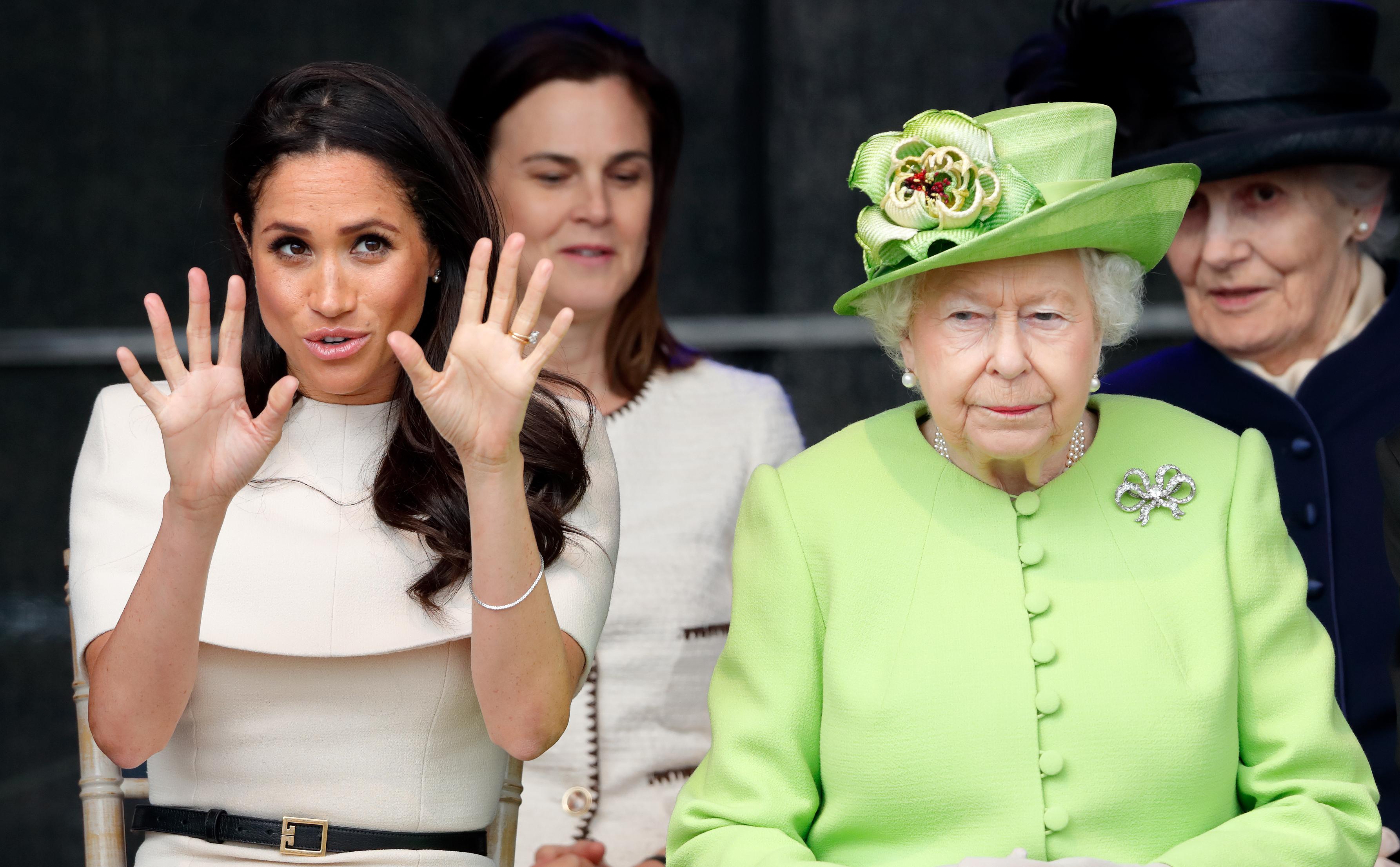 Queen Elizabeth Doesn't Want Meghan Markle's Baby Vegan: Exclusive