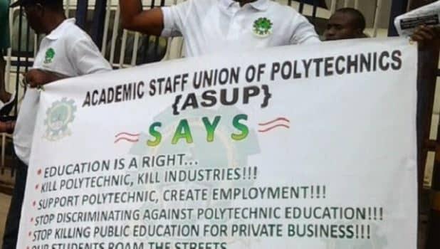 BREAKING: ASUP Shuts Down Polytechnics In Nigeria