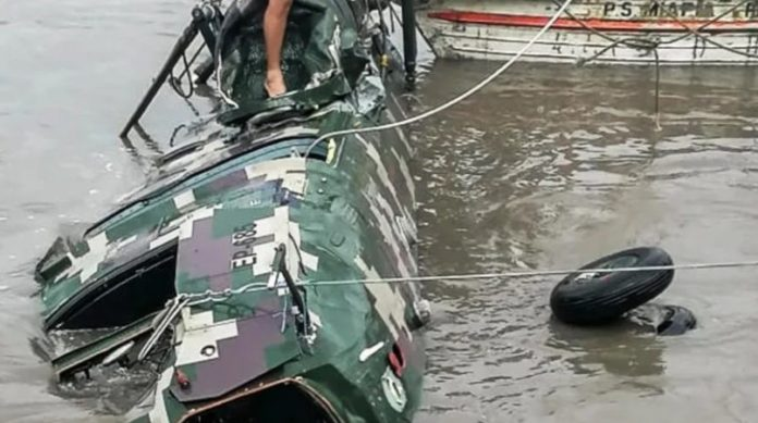 BREAKING: Army Helicopter Crashes Into River, 5 Soldiers Killed