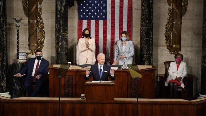 Full Transcript Of Biden's Speech To US Congress
