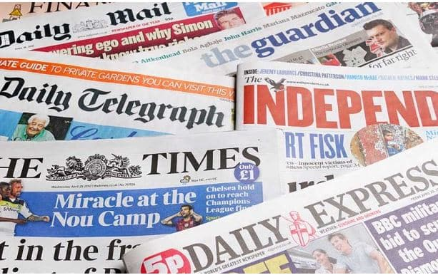 Newspaper Headlines From Nigerian Dailies May 14, 2021